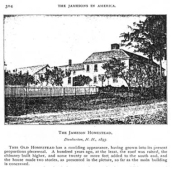 An image of the house in the late 19th century